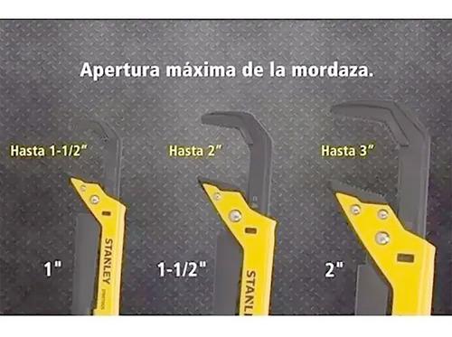 llave de caño tipo sueco stanley 2¨ apertura 90mm stmt75927