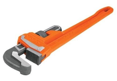 llave de caño truper grifa stillson industrial 46cm sti-18