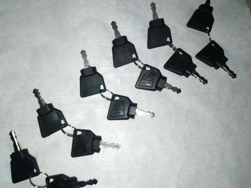 llave de contacto jcb original