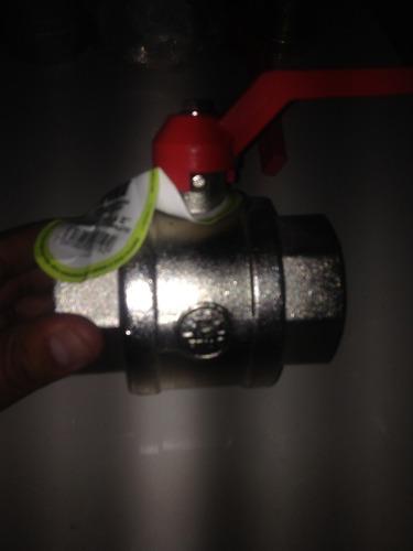 llave de corte rápido marca pina diámetro 2''