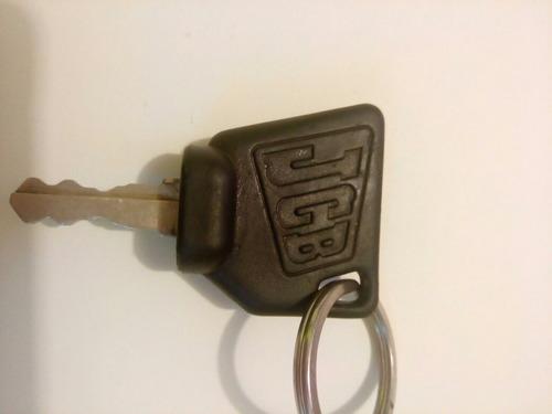 llave de encendido para jcb maquinaria bobcat , bomag , cate