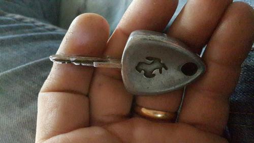 llave de ferrari modena 360 original