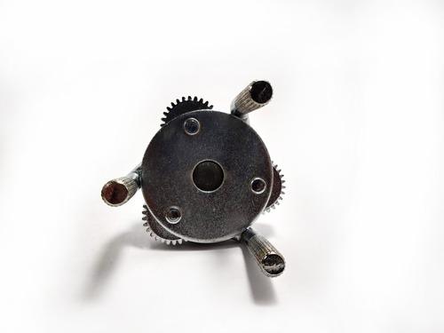 llave de filtro de aceite ajustable de 3 patas 65 a 130 mm