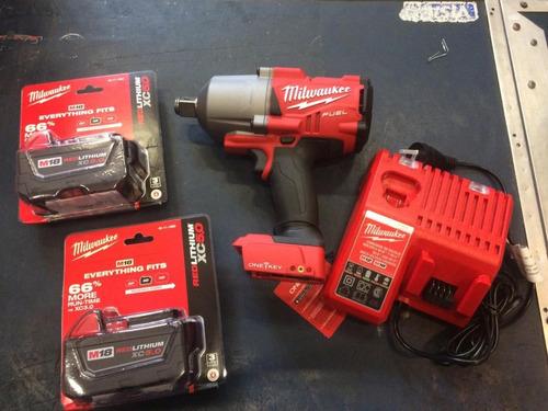 llave de impacto bateria milwauke 18v fuel 2864-259ax 1626nm