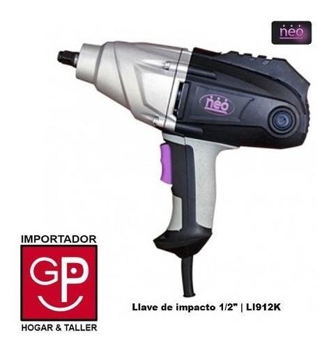 llave de impacto electrica 1/2 1050w li912k neo g p