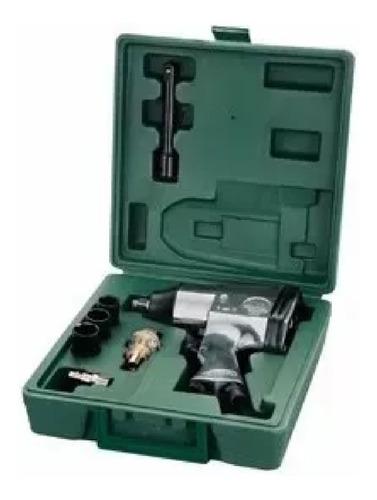 llave de impacto mota ak700 neumatica maletin 5 accesorios