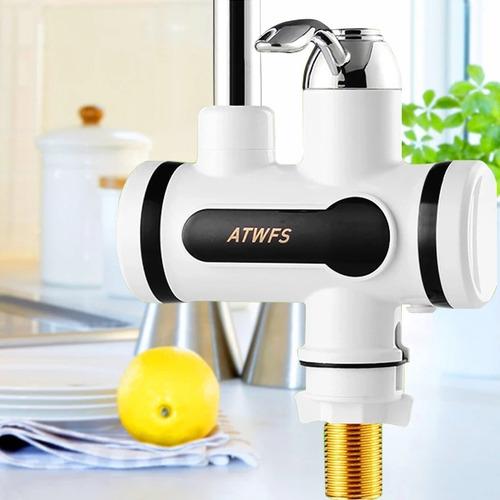 llave de lavaplatos electrica mas envio gratis con adaptador