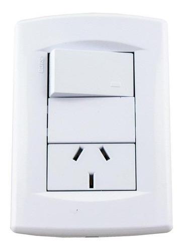 llave de luz armada life sica 2 modulos
