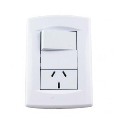 llave de luz armada sica life 2 modulos r