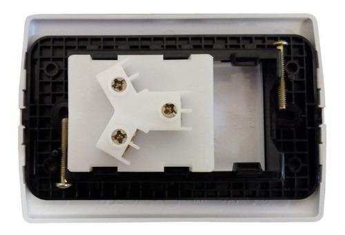 llave de luz armada una toma 20a blanco amp 3 patas enchufe