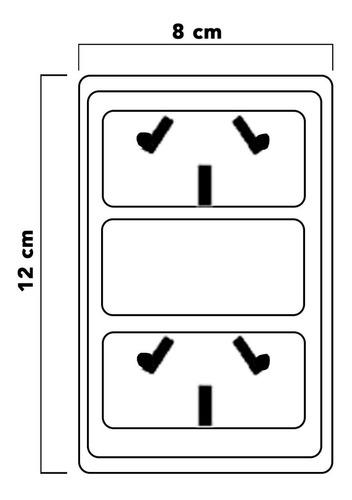 llave de luz armado dos tomas combinados covre garantia