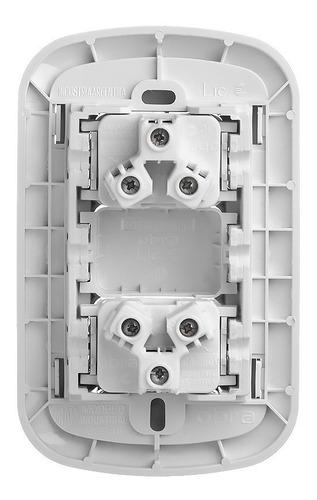 llave de luz armado dos tomas pack x 5 combinados covre obra