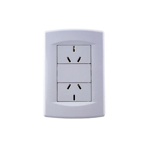 llave de luz dos tomas 10a sica garantia