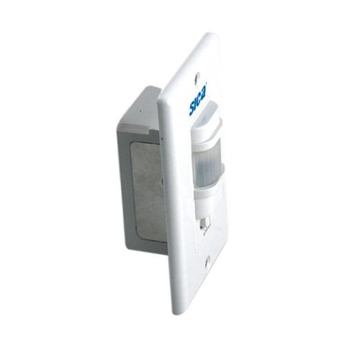 llave de luz sica life pir sensor movimiento blanco