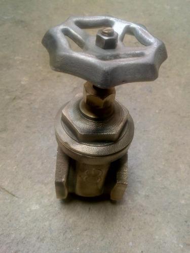 llave de paso de bronce de 2 pulgadas