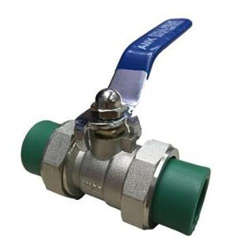 llave de paso esferica de palanca 25mm termofusion aprobado