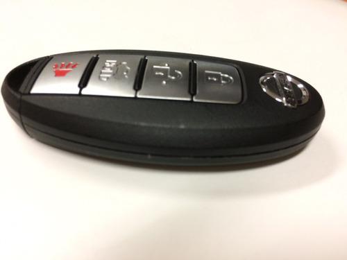 llave de presencia para nissan 4 botones
