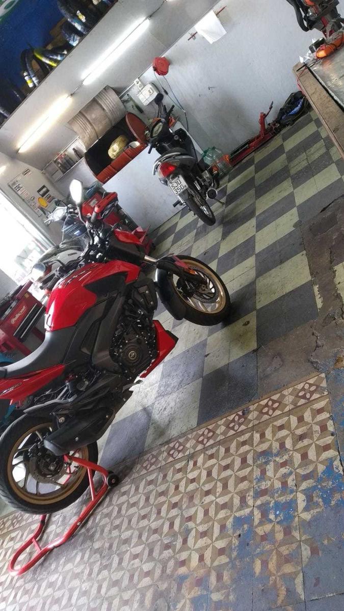 llave de taller y casa de repuesto motos