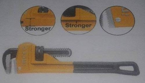 llave de tubo 14  industrial marca ingco.
