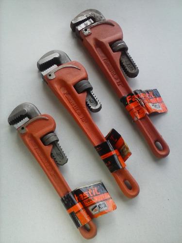 llave de tubo 14 pulgadas heavy duty alta resistencia