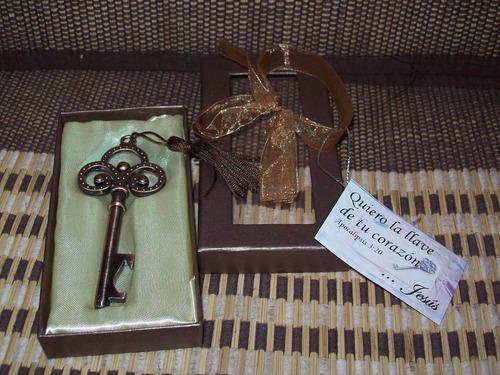 llave destapador decorativo