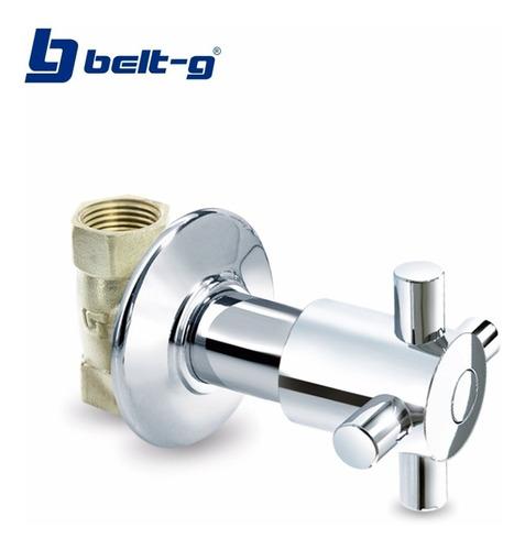 llave ducha individual 1/4 v. manilla spike belt-g gri-0727