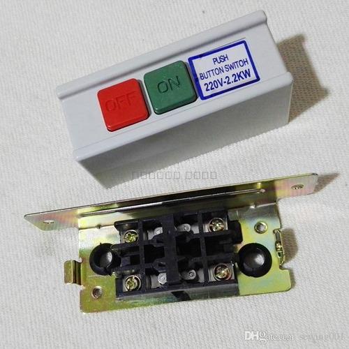 llave encendido con cable para motor indust - casa siritto