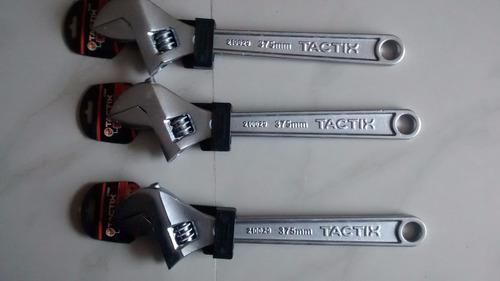 llave expansiva de 15pulgadas/375mm marca: tactix