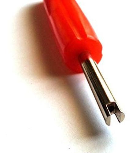 llave extractor roja saca obu sencillo válvula 25 mm.