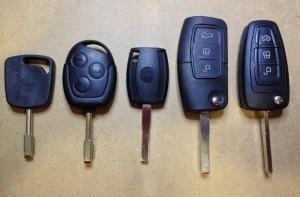 llave ford programada