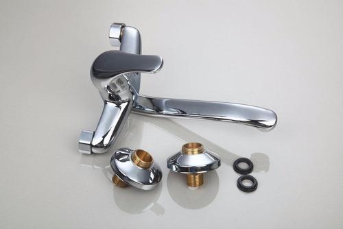 llave grifo cocina o baño muro pared girable