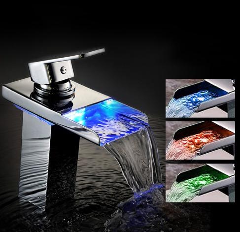 Llave grifo monomando lavabo ba o tina cascada cromoda for Grifo para tina bano