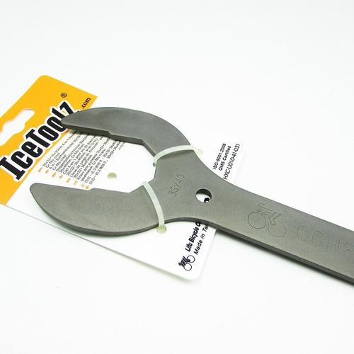 llave herramienta icetoolz 30/32/34/36 movim y cajas - racer