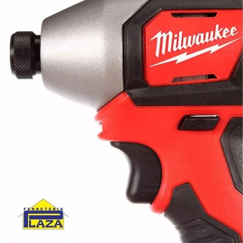 llave impacto 1/4 2 bat 18v torque 240lbs milwaukee 2657-259