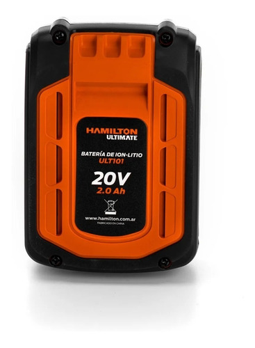 llave impacto bateria hamilton enc 1/2 400nm ultimate 20v