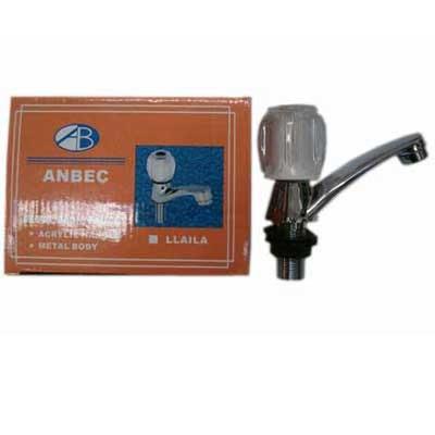 llave individual acrílica para lavabo anbec