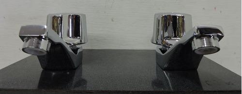 llave individual para lavabo rugo 16-q