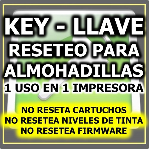llave key wicreset almohadillas reset epson windows mac 2018