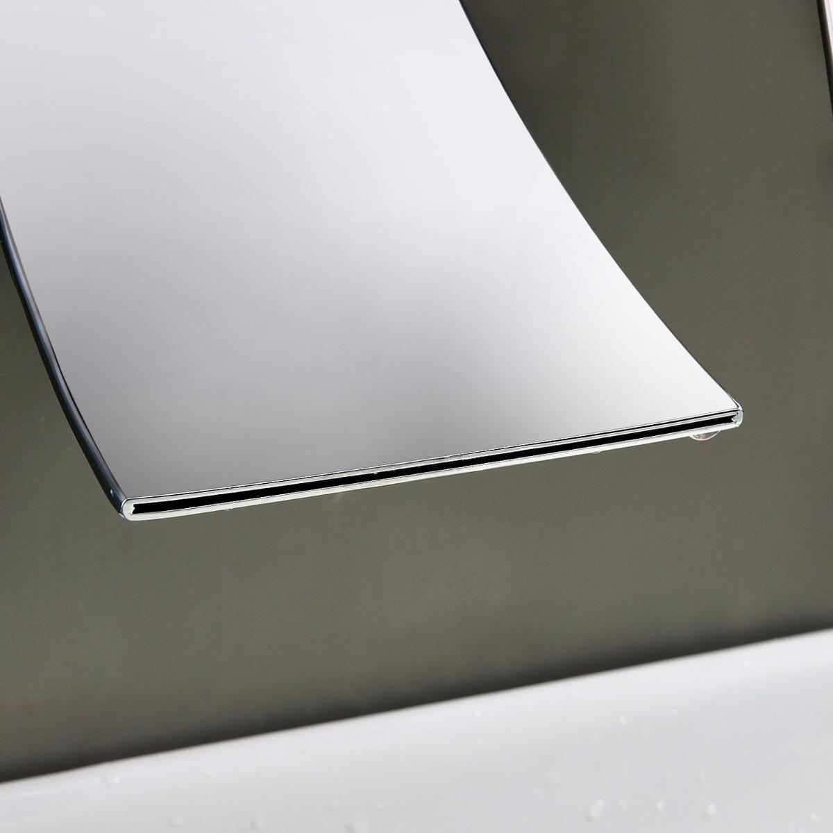 Llave grifo de lavabo ba o o tina mezcladora monomando for Llave de ducha pared