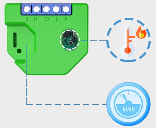 llave luz inteligente wifi shelly dimmer smart domótica