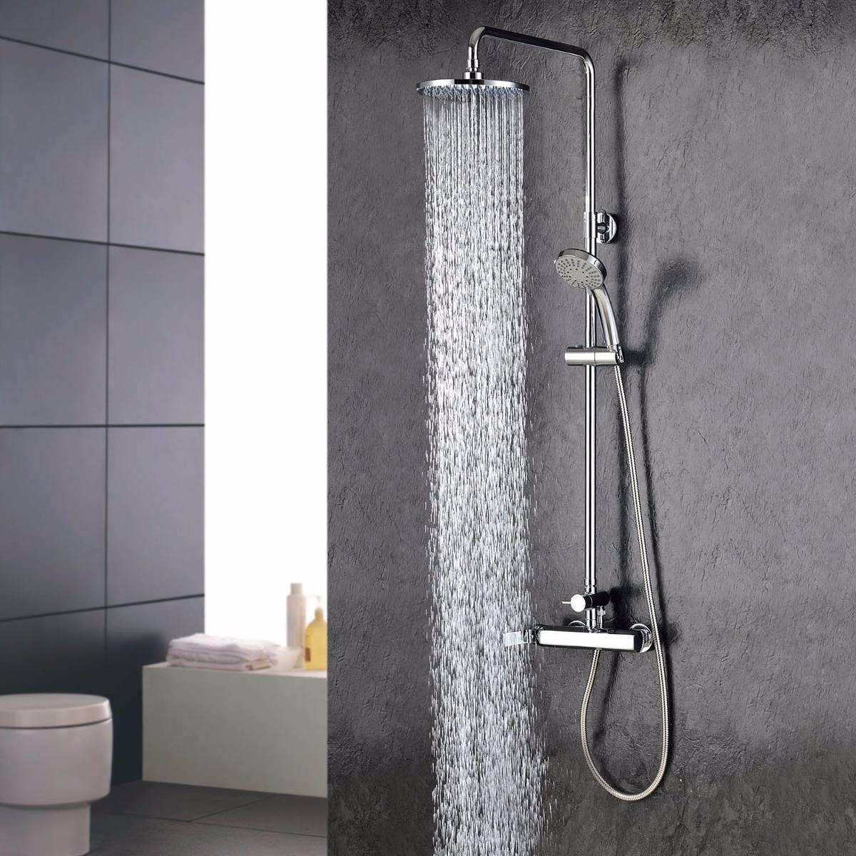 Altura de regadera de bano mejores ideas para el dise o for Llave ducha telefono