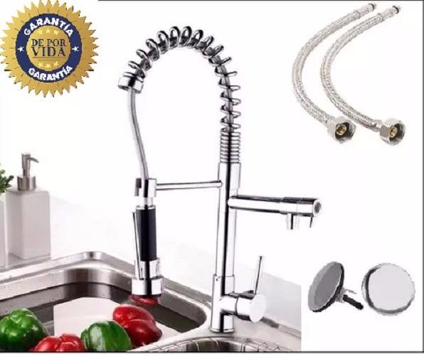 Llave mezcladora cocina monomando grifo y regalos for Marcas de llaves mezcladoras
