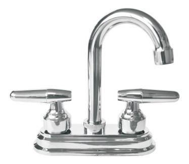 llave mezcladora lavabo cromo 60482 ekon metalflu
