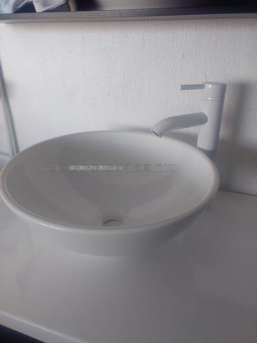 llave mezcladora moderno barato blanco para baño ovalin lavabo