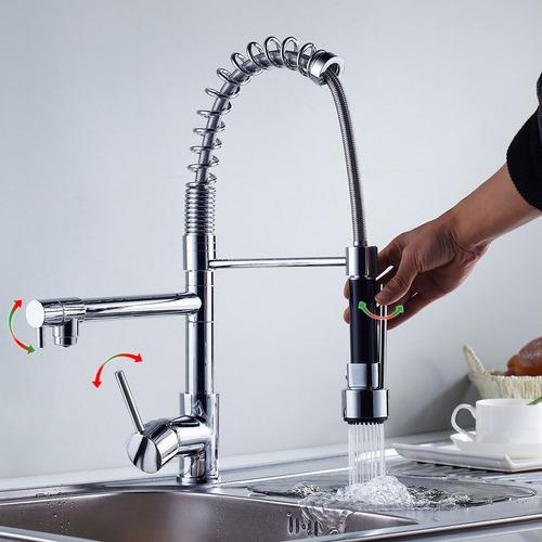 llave mezcladora monomando fregadero tarja cocina grifo