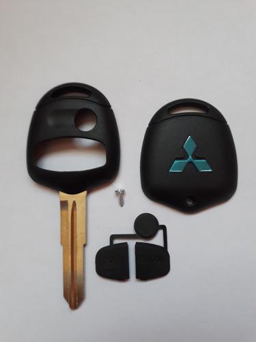 llave mitsubishi lancer 3 botones carcasa oferta