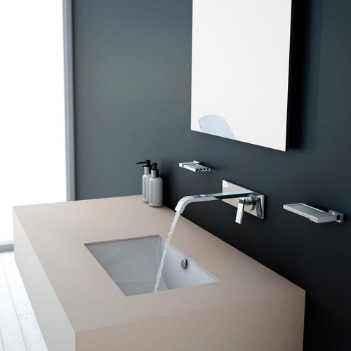 llave monomando lavabo pared helvex vertika e-3007 - cromo