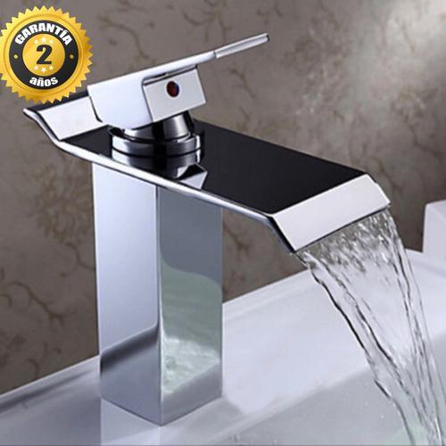 Llave monomando mezcladora grifo lavabo ba o cascada r0 for Marcas de llaves de bano