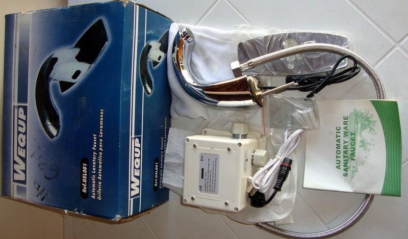 Llave o grifo para lavamanos autom tico con sensor wequp bs 0 65 en mercado libre - Grifos para lavamanos ...
