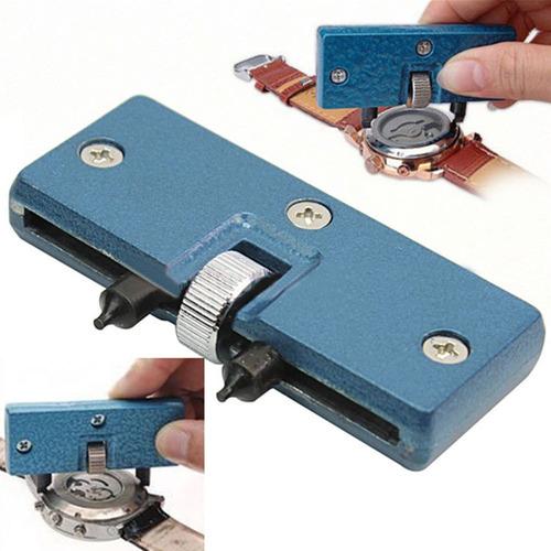 llave para destapar tapa rosca trasera relojes cambio pila